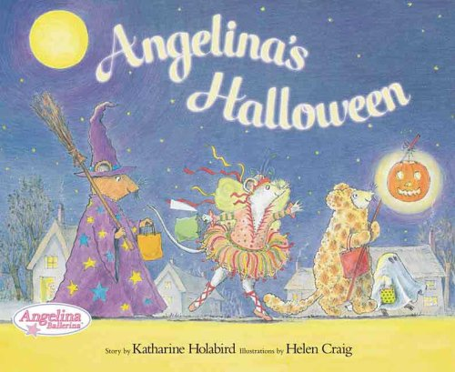 Angelina's Halloween (Angelina Ballerina) -