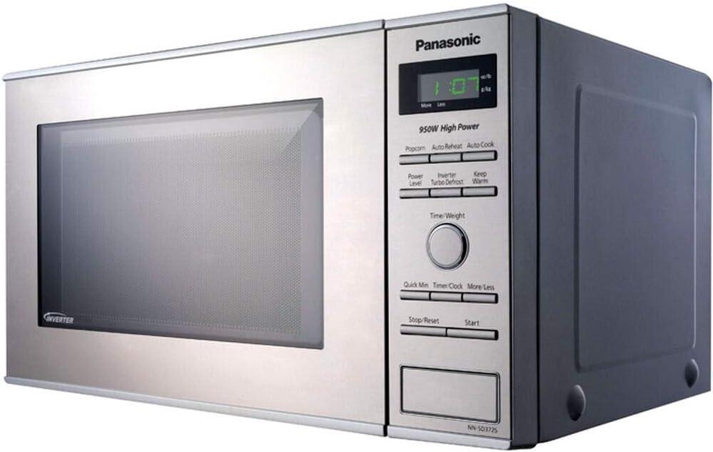 Amazon.com: Panasonic NN-SD372S Small Countertop Microwave ...