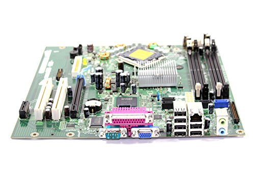 Genuine Dell Motherboard Logic Board For Optiplex 745 Small Mini Tower SMT Systems Intel Q965 Express DIMM Memory Chipset Compatible Part Numbers: TY565, HR330, KW626, RF703 by Dell (Image #1)