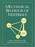 img - for Mechanical Behavior of Materials by Marc Andre Meyers (1998-07-01) book / textbook / text book