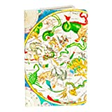 Astrological Map Small Covered Moleskin Notebook