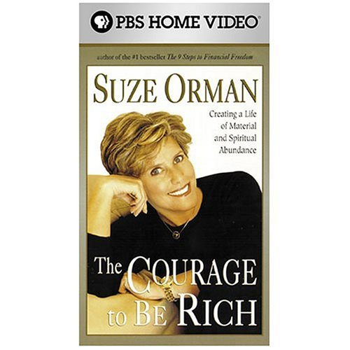 Suze Orman   The Courage To Be Rich  Vhs