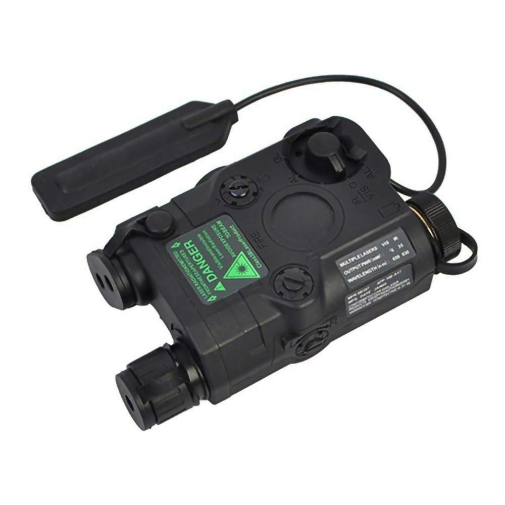 IHPMCNZG PEQ-15 Green Dot Laser with White LED Flashlight and IR Illuminator Black by IHPMCNZG
