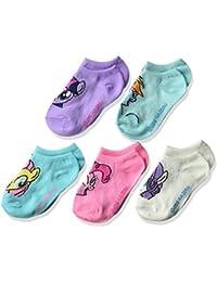 Little Girls' Pony 5 Pack No Show Socks