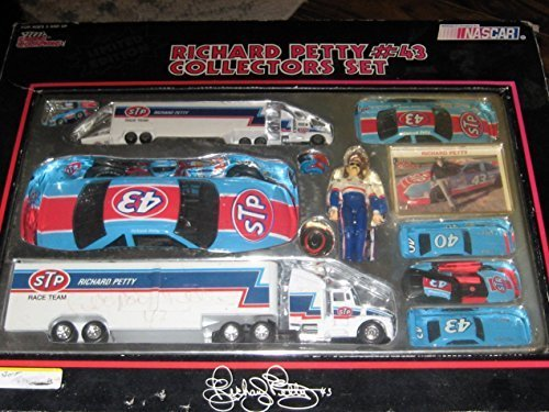 STP #43 Richard Petty Race Team Nascar Winston Cup Racing Collectors Set From Racing Champions 1991 - Richard Petty Nascar