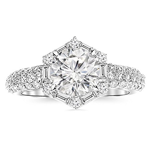 0.75 Ct Diamond Baguette - 6