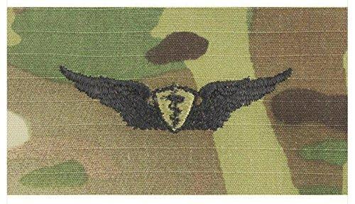 - Vanguard Army Embroidered Badge ON OCP SEW ON: Flight Surgeon - Basic
