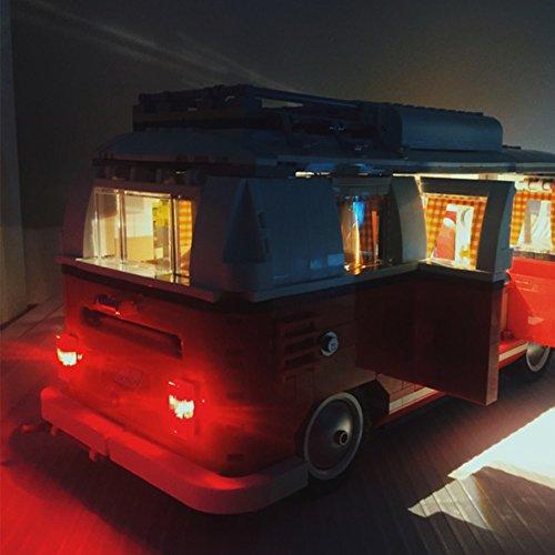 Led Lighting Set For Creator Series Volkswagen T1 Camper
