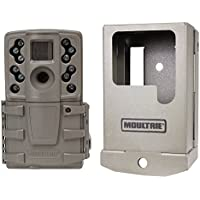 Moultrie A20 12MP Low Glow IR Mini Hunting Game Trail Camera with Security Case