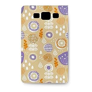 Leather Folio Phone Case For Samsung Galaxy S3 Leather Folio - Autumn Garden Folio Stand
