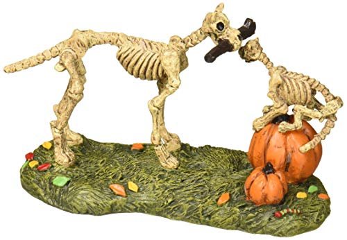 (Department 56 Halloween Collections Haunted Pets at Play Figurine Village Accessory,)