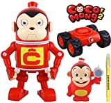 [Cocomong] Talking Transformation Robocong with Cocomong with figures + SuperDaddy Highlighter (Gift) Kids for animation Toys
