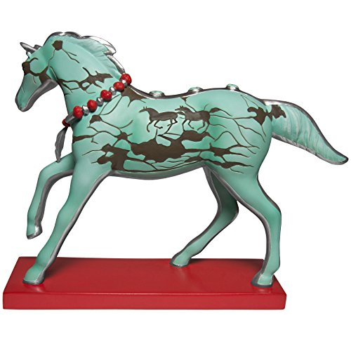 Enesco Trail of Painted Ponies Turquoise Journey Stone Resin Figurine, 6.5