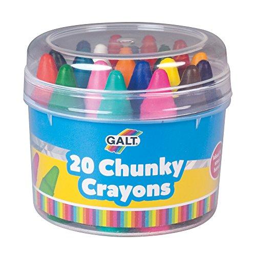Chunky Crayons (Galt Toys Chunky Crayons - 20 Pieces)