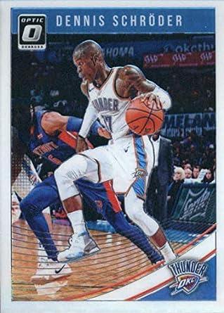 45a5530a2 2018-19 Donruss Optic  6 Dennis Schroder NM-MT Oklahoma City Thunder  Basketball