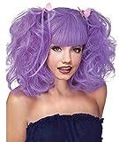 WonderCostumes Wig Lavender Pixie