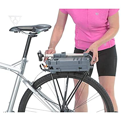 Topeak Mtx Bicycle Rear Basket With Fixer 6 Adaptor