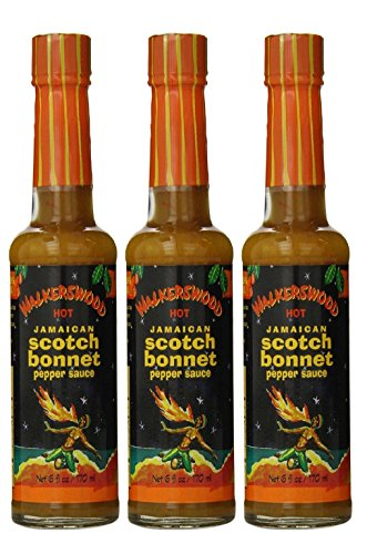 Jamaican Hot Sauce Recipes - Walkerswood Scotch Bonnet Hot Sauce, 5-Ounce Bottles (Pack of 3)