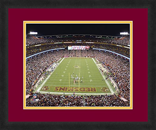 (NFL Washington Redskins FedEx Field Beautifully Framed and Double Matted 18