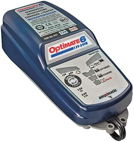 TecMate OptiMATE 6 Deep Cycle Battery Charger