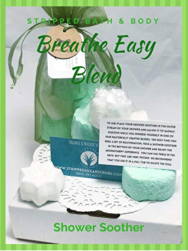Extra Strength Sinus Relief/Headache Relief/Congestion Relief Shower Soother (5-Pack) - Breathe Easy Blend