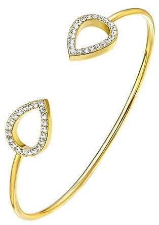 Kaytie Wu Tear Drop Swarovski Crystal Earrings - Yellow Gold Gold ( JSpSsWHpc6