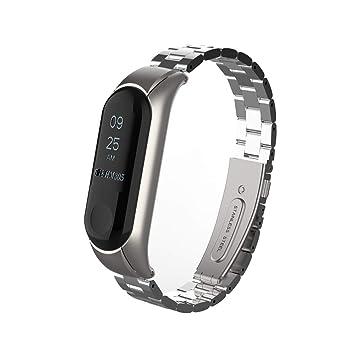 para Xiaomi Mi Band 3 Smartwatch Original, Zolimx Moda Metal de ...