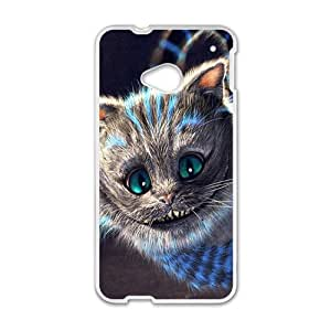 Happy Alice In Wonderland Case Cover For HTC M7