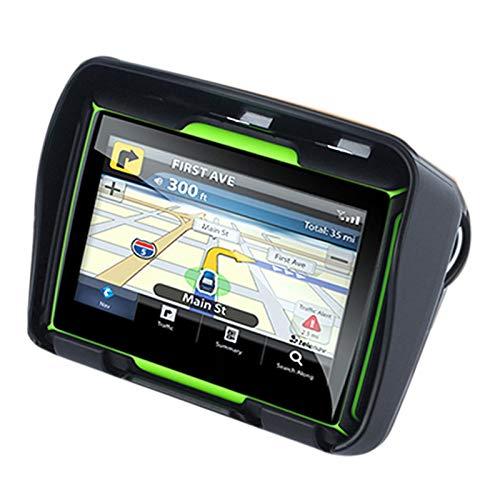 TOOGOO Mis à Jour 256M RAM 8 GB Flash 4.3 Pouces Moto GPS Navigateur Bluetooth Etanche Moto GPS Voiture Navigation La Carte de l'europe