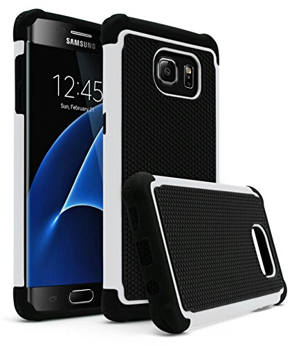 Shockproof Armor Case for Samsung Galaxy S7 Edge (White) - 1