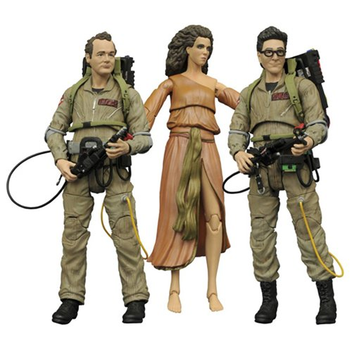 Ghostbusters Select Series 2 Action Figures Set of 3