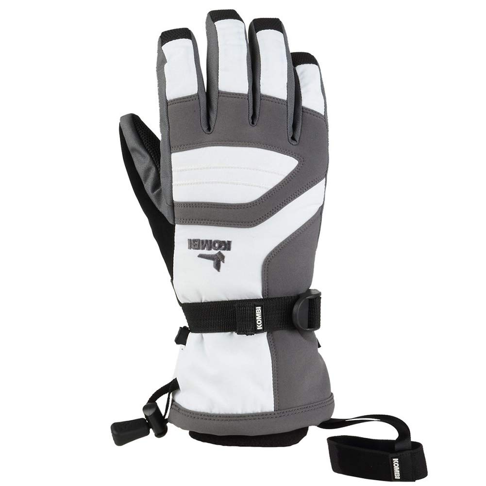 Kombi Junior Storm Cuff III Gloves, White Gunmetal, Medium