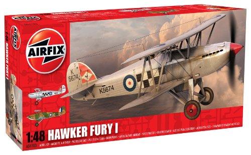Airfix 1:48 Kit de modelismo Hornby A04103 avi/ón Hawker Fury