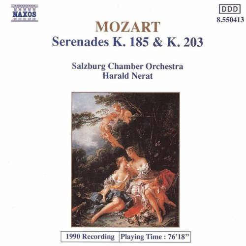 Serenade No. 3 in D major, K. 185: IV. Menuetto-Trio