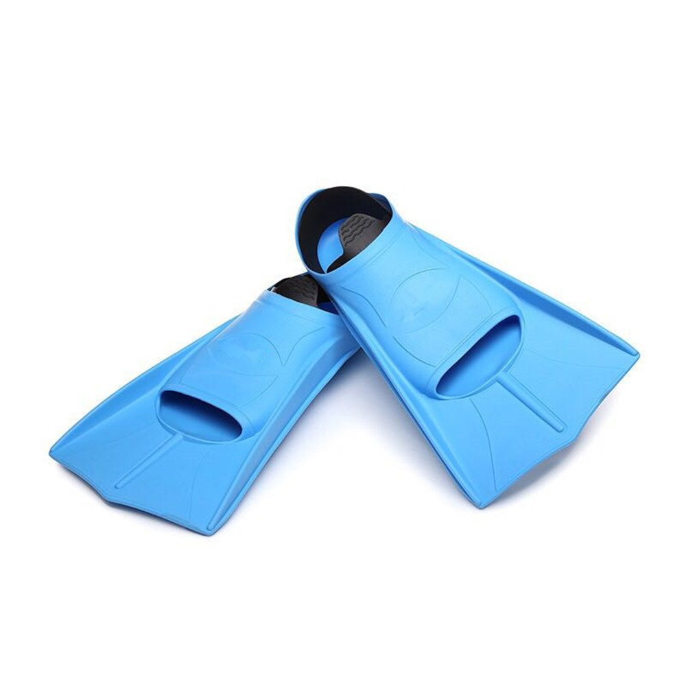 Yuybei-SP Fins Travel Fins Silicone Snorkeling Swimming Flipper for Swimming,Snorkeling Suitable for Swimming Diving and Snorkeling (Size : L) by Yuybei-SP