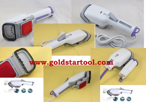 Stainless Protable Travel Heat Steam Iron Brush 110 volt by GOLDSTAR (Image #1)