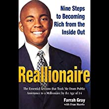 Reallionaire: Nine Steps to Becoming Rich from the Inside Out Audiobook by Farrah Gray Narrated by Cary Hite