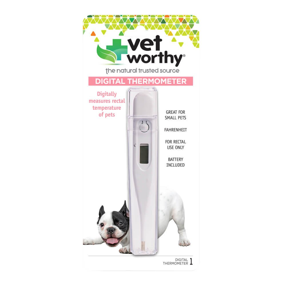 Vet Worthy 10001-9 Pet Digital Thermometer