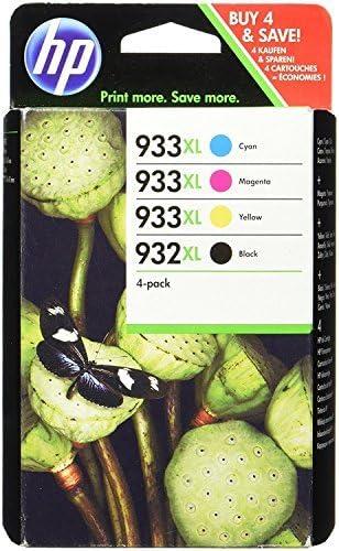 HP C2P42AE - Cartucho de Tinta Original, 4 unidades (negro, cian ...