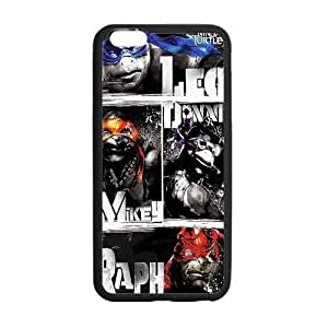 Teenage Mutant Ninja Turtles Names Case Image Custom Case Hard Durable Protective Cover for iPhone 6 - 4.7 inches
