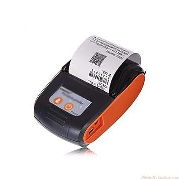 WSMLA Impresora de Etiquetas Impresora inalámbrica de ...