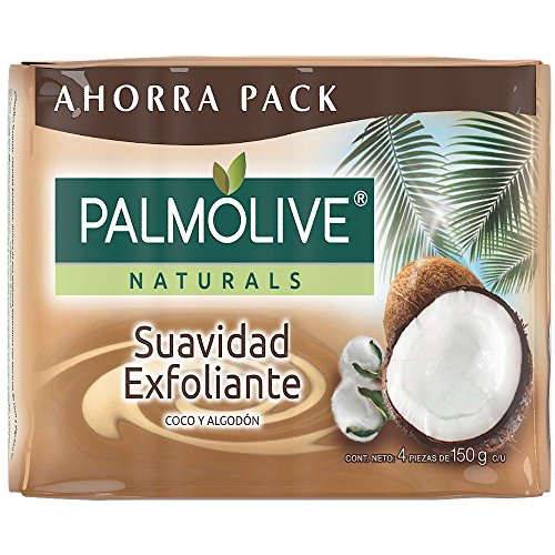 - Palmolive Naturals Coco and Cotton Bar Soap Toilet, 150 g, 4 Pieces
