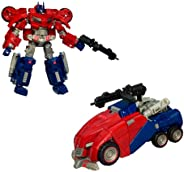 Transformers Generations: Autobot Cybertronian Optimus Prime Deluxe Class Action Figure