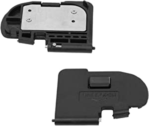 PhotoTrust Battery Door Cover Lid Cap Replacement Repair Part Compatible with Canon 5D Mark II DSLR Digital Camera