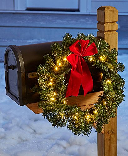 Lighted Outdoor Wreaths in US - 6