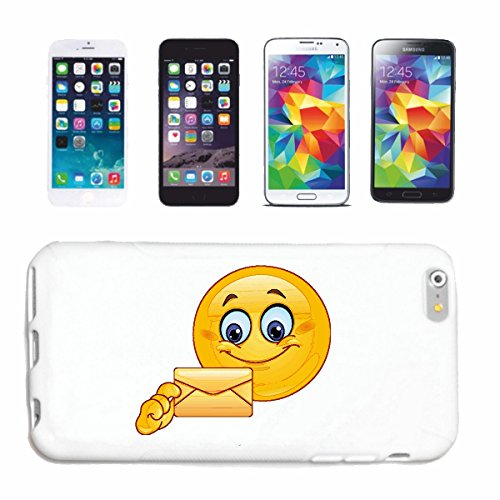 "cas de téléphone iPhone 6S ""IN LOVE SMILEY POST GETS UNE LETTRE ""SMILEYS SMILIES ANDROID IPHONE EMOTICONS IOS grin VISAGE EMOTICON APP"" Hard Case Cover Téléphone Covers Smart Cover pour Apple iPhone e"