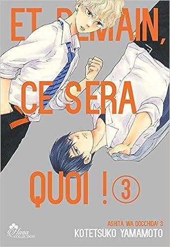 Et Demain Ca Sera Quoi Tome 03 Livre Manga Yaoi