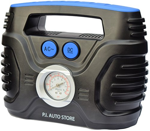 P.I. Auto Store - Tyre Inflator - Dual Electric Power 12V DC (vehicle) 220V...