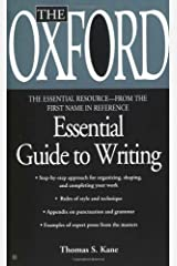 The Oxford Essential Guide to Writing (Essential Resource Library) Reissue edition by Kane, Thomas S. (2000) Mass Market Paperback Unknown Binding