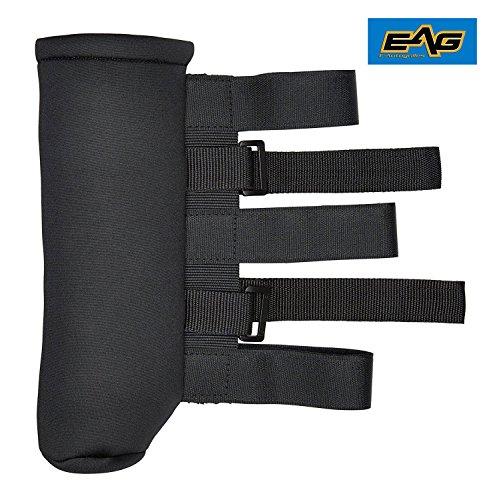 E-Autogrilles 51-9540 Black Roll Bar Fire Extinguisher Holder (76-16 Jeep Wrangler YJ/TJ/JK 2.5 lb)